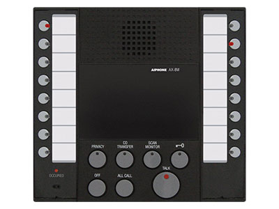 Aiphone AX-8M Audio Only Master Station