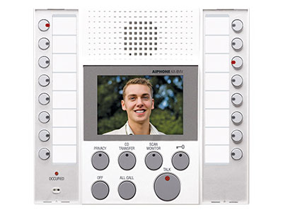 Aiphone AX-8MV-W Audio Video Master Station in White