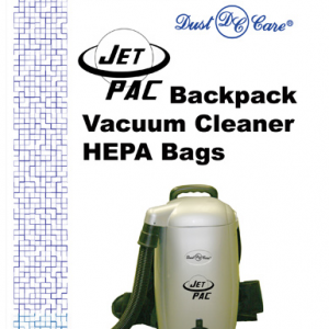Dust Care Jet Pac HEPA Bags - 5 Pack