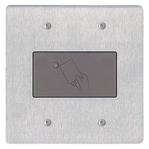 Aiphone HID-SS HID Reader in Stainless Frame