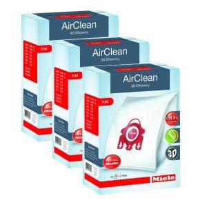 Miele FJM AirClean 3D Vacuum Bags 3 Boxes