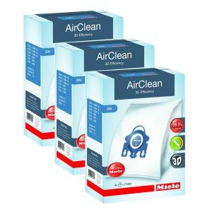 Miele GN AirClean 3D Vacuum Bags 3 Boxes