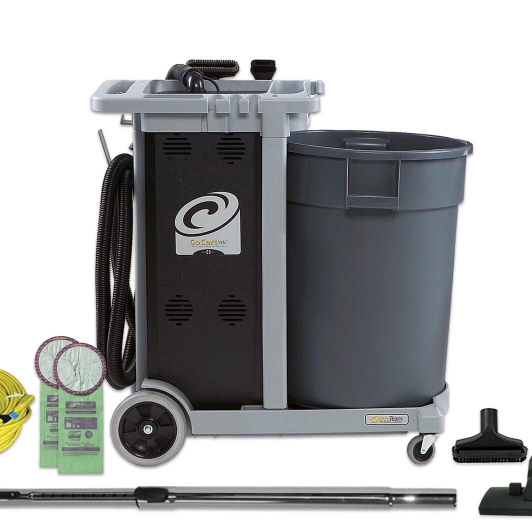 Pro-Team GoCartVac HEPA Cart Vacuum