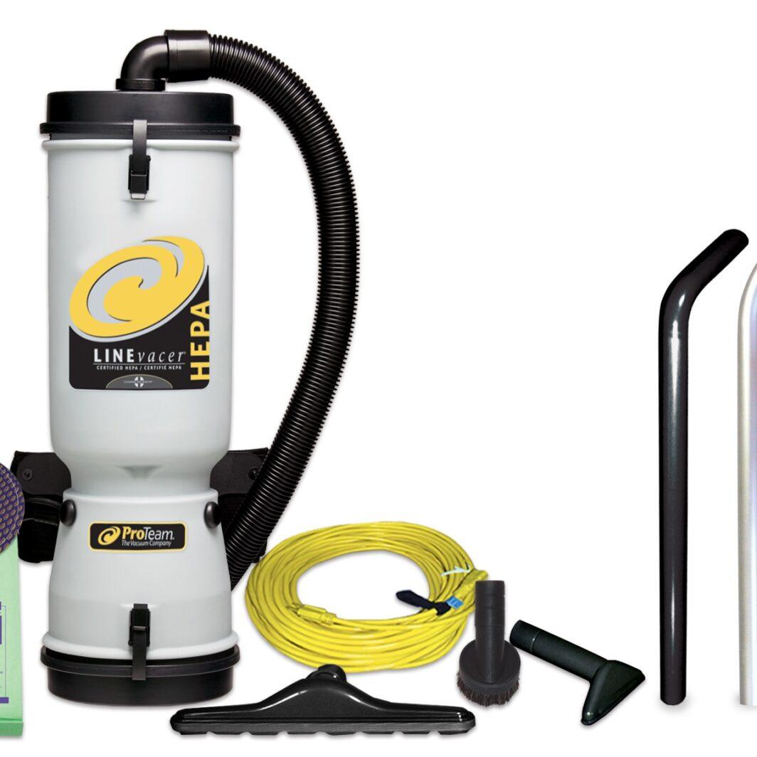 Pro-Team LineVacer ULPA Commercial Backpack Vacuum