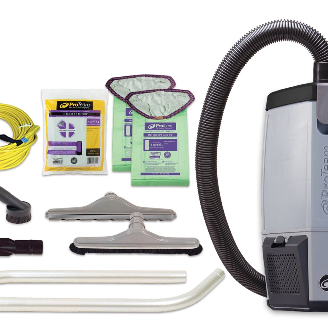 Pro-Team ProVac FS Backpack Vacuum for Food Service Industry