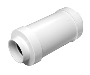 Central Vacuum 6 Inch Cylindrical Muffler