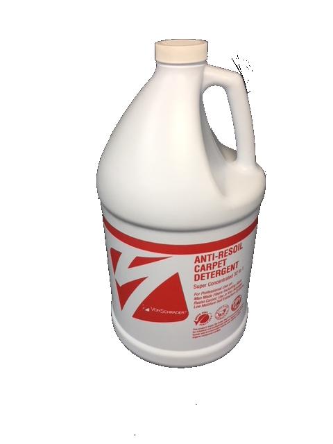 Von Schrader High pH Anti-Resoil Carpet & Upholstery Detergent Gallon