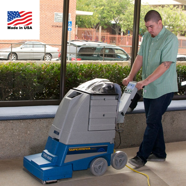 EDIC Supernova Self-Contained Two Way Carpet Extractor #1200PSN