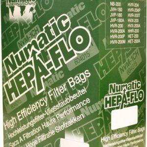 Nacecare NVM 3AH: HEPA Flo filter bags for Wet/Dry 470 models